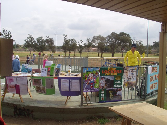 Campbelltown Information Stall